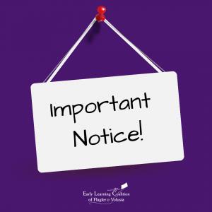 Important Notice!